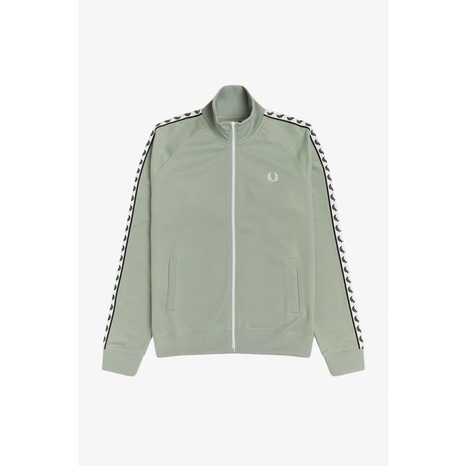 Taped Track Jacket in Seagrass