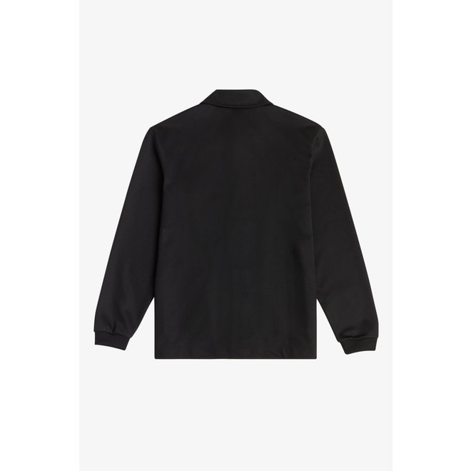 Tricot Coach Jacket in Black