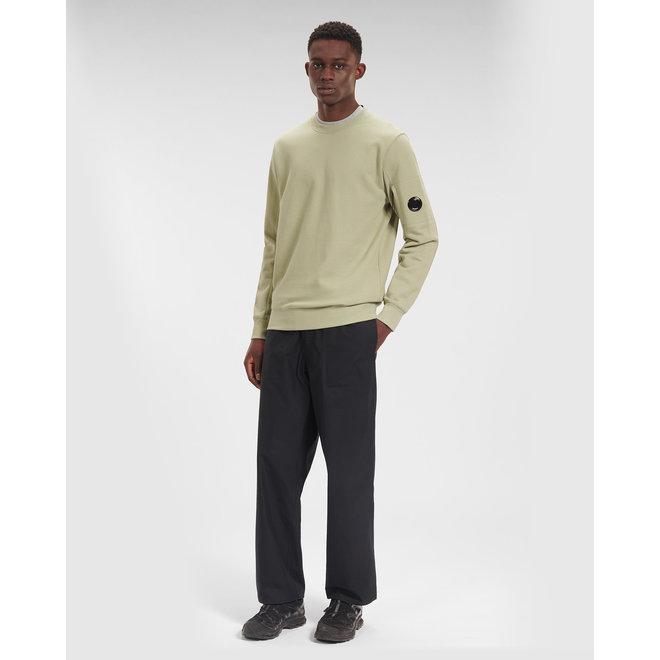 Diagonal Raised Fleece Sweatshirt in Tea