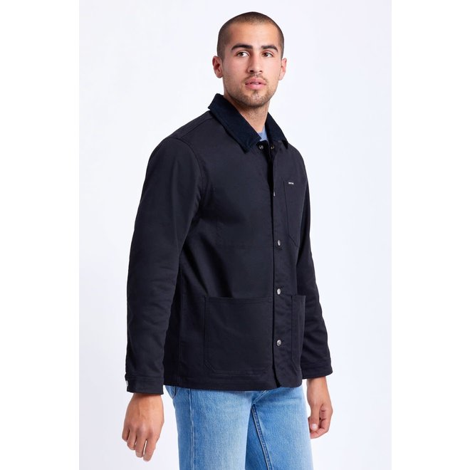 Survey Crossover Chore Coat in Black