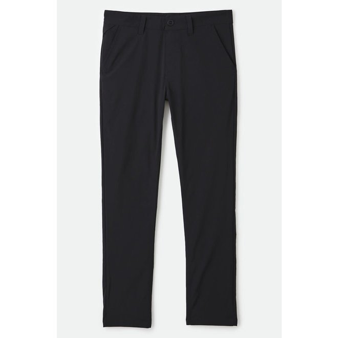 Choice Chino Taper Crossover Pant in Black