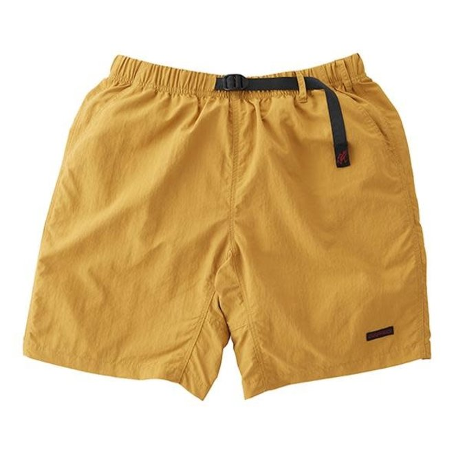Shell Packable Shorts in Mustard