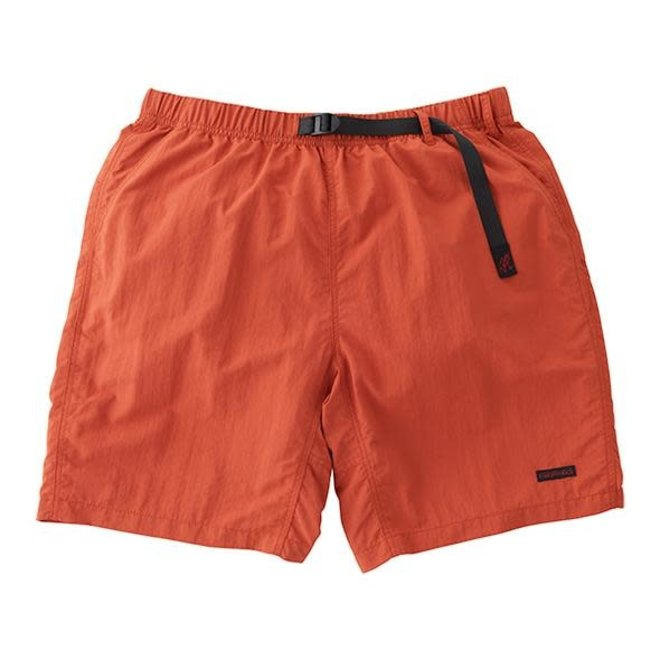 Shell Packable Shorts in Terracotta