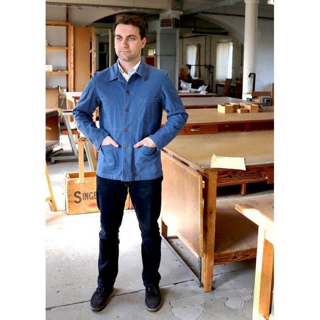 Workwear Jacket - Twill Fabric in Waid