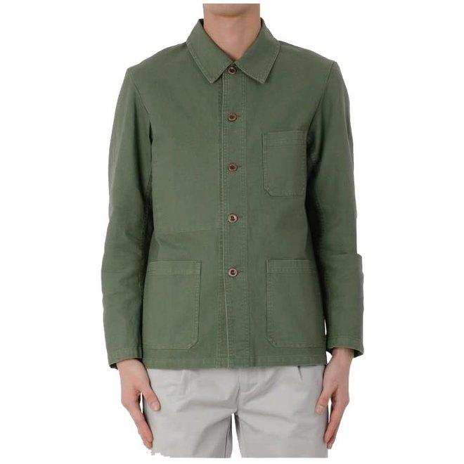 Workwear Jacket - Twill Fabric in Jade