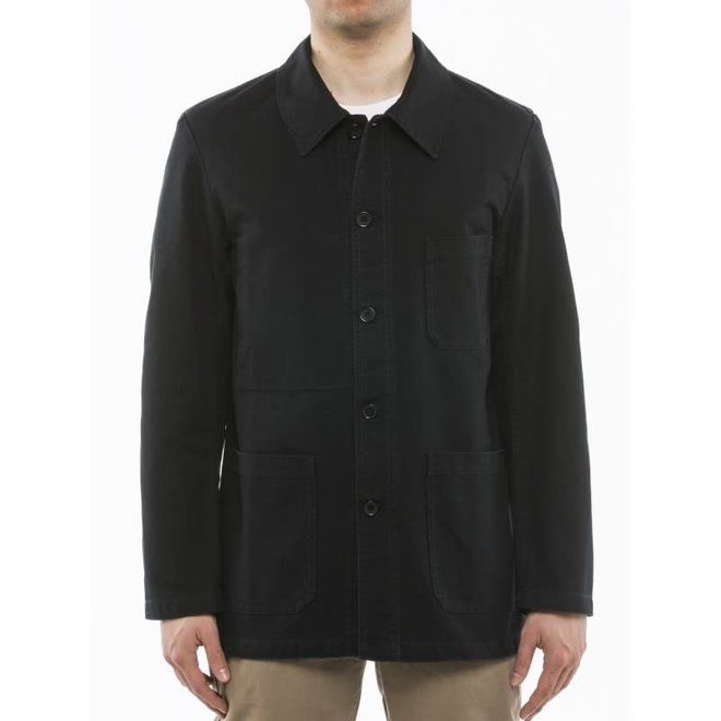 Workwear Jacket - Twill Fabric in Black