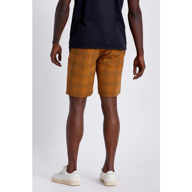 Choice Chino Crossover Short in Copper/Steel Blue