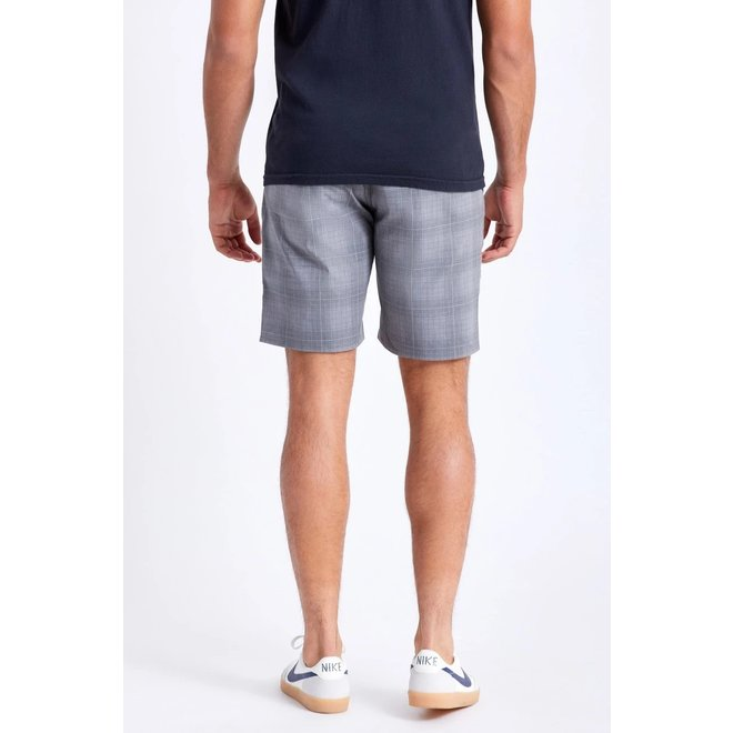 Choice Chino Crossover Short in Grey/Charcoal