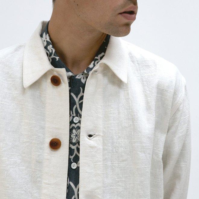 Bisset Jacket in White Sand