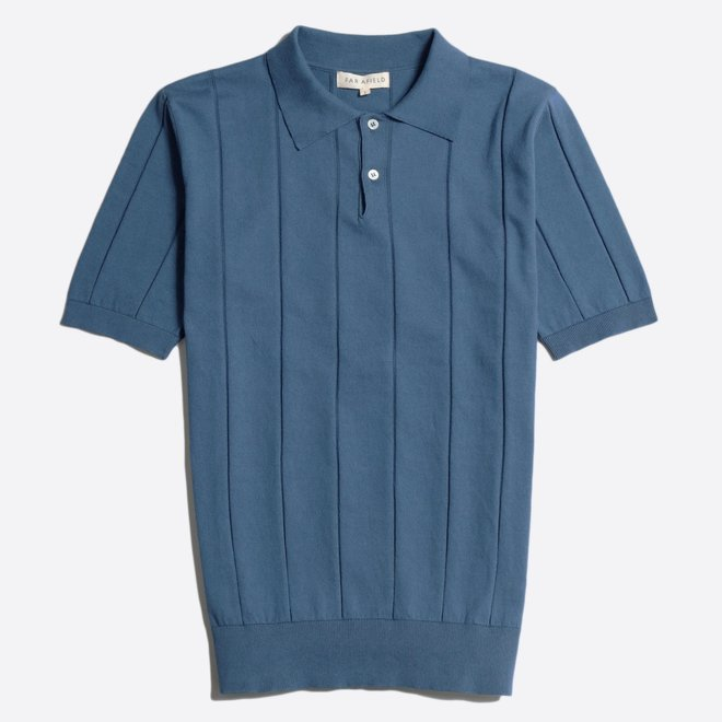Jacobs Polo Shirt in Ensign Blue