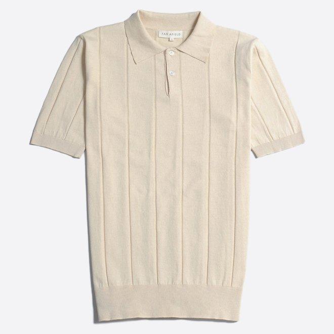 Jacobs Polo Shirt in Lambs White