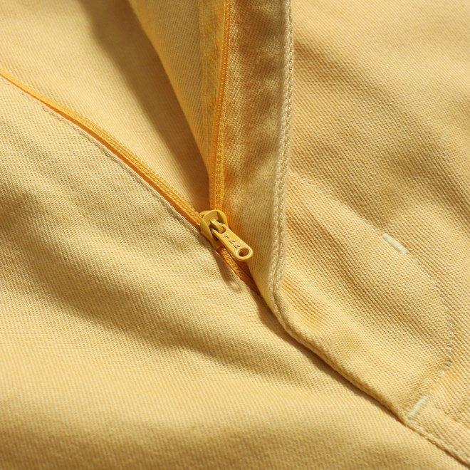 Drawstring Shorts in Jojoba Yellow
