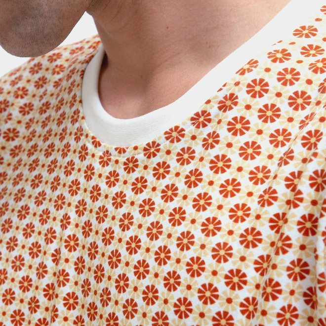 Printed T-Shirt in Sunbeam