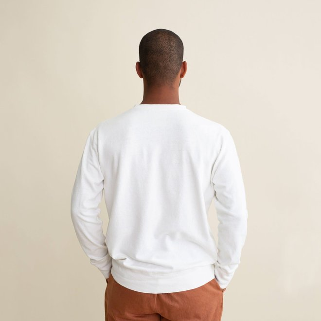 California Sweatshirt in Terracotta