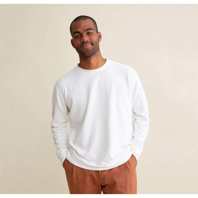 California Sweatshirt in Washed White