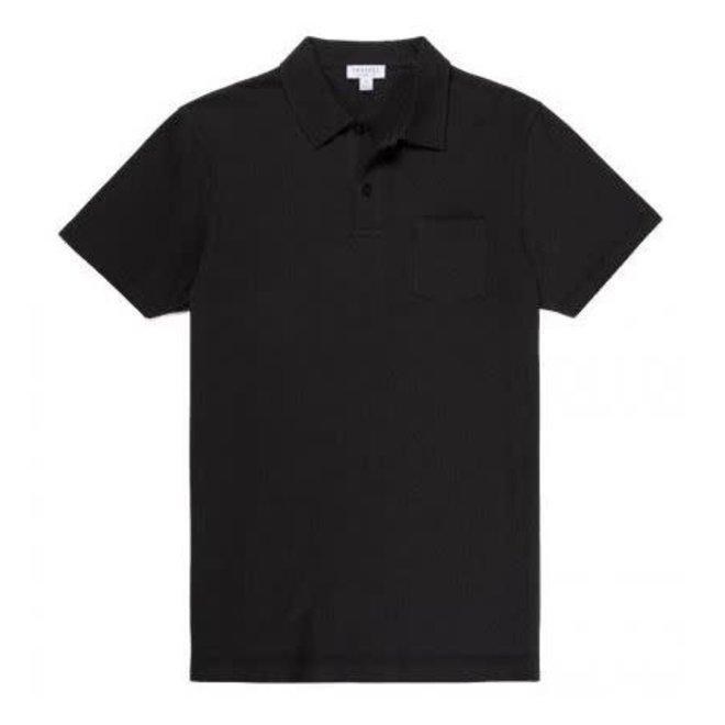 Riviera Polo Shirt in Black