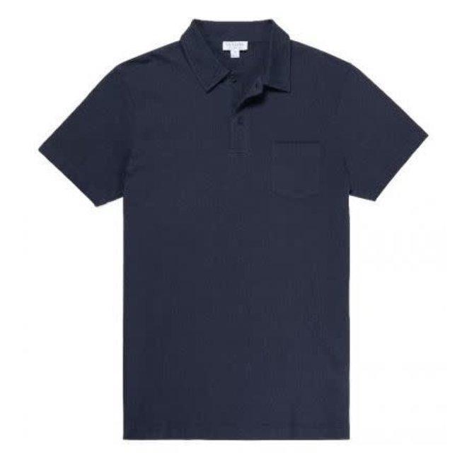 Riviera Polo Shirt in Navy