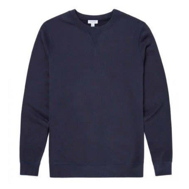 Classic Loopback Sweatshirt in Navy