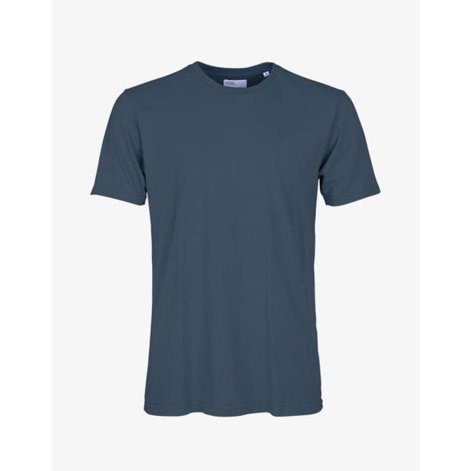 Classic Organic T-Shirt in Petrol Blue