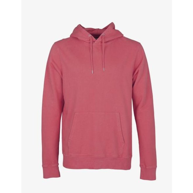 Classic Organic Hoodie in Raspberry Pink