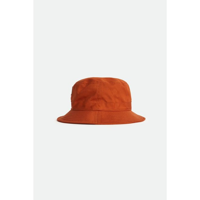 Alton Packable Bucket Hat in Apricot Jam