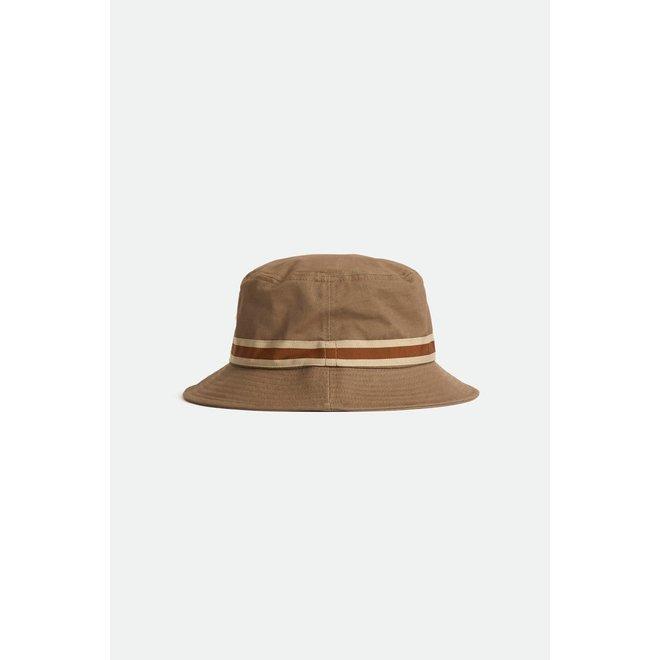 Alton Packable Bucket Hat in Twig/Vanilla