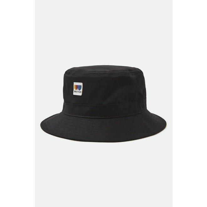Alton Packable Bucket Hat in Black