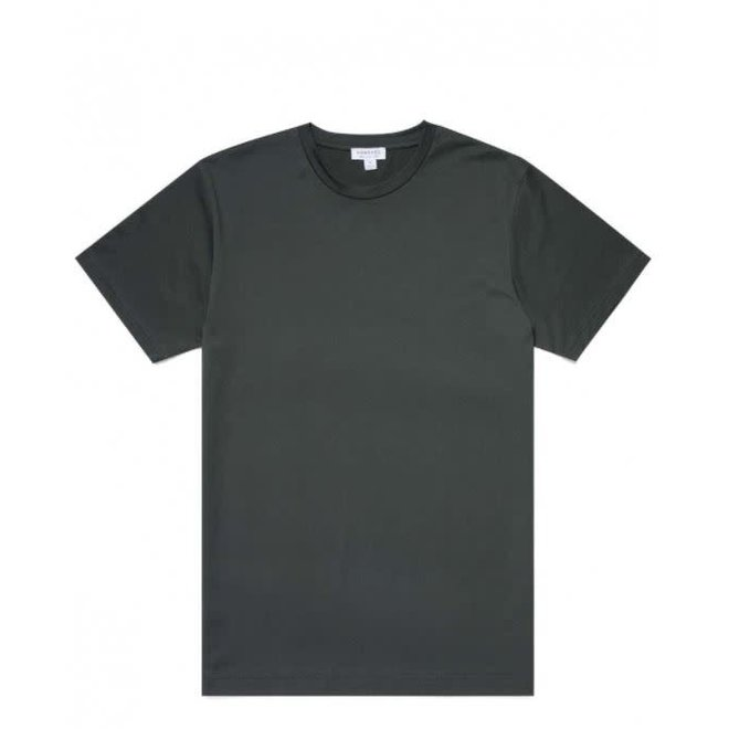 Classic Crew Neck Tee in Forest