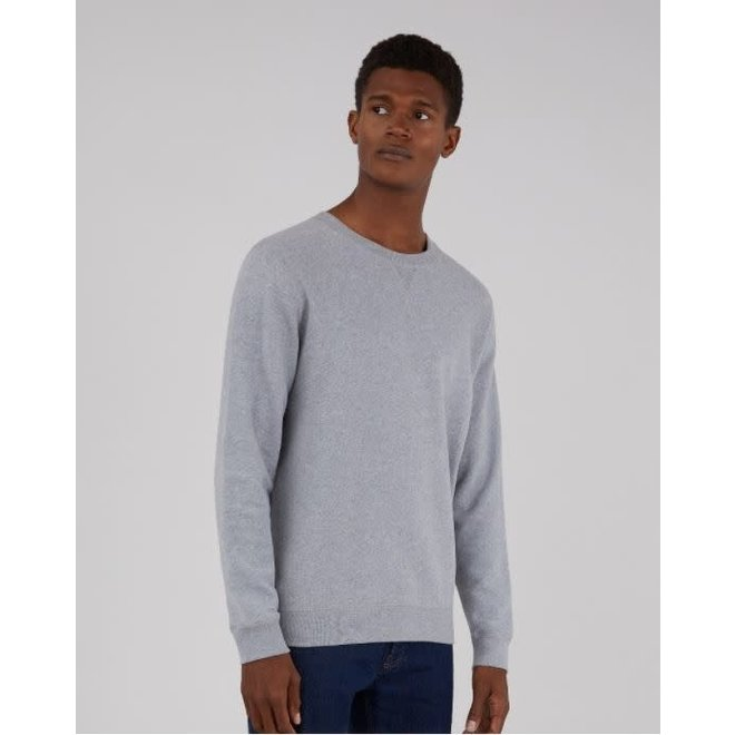 Classic Loopback Sweatshirt in Grey Melange