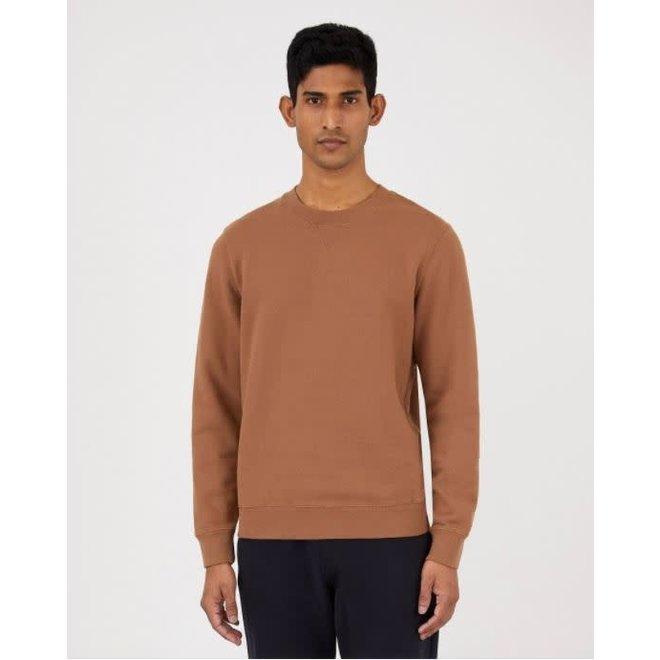 Classic Loopback Sweatshirt in Mushroom
