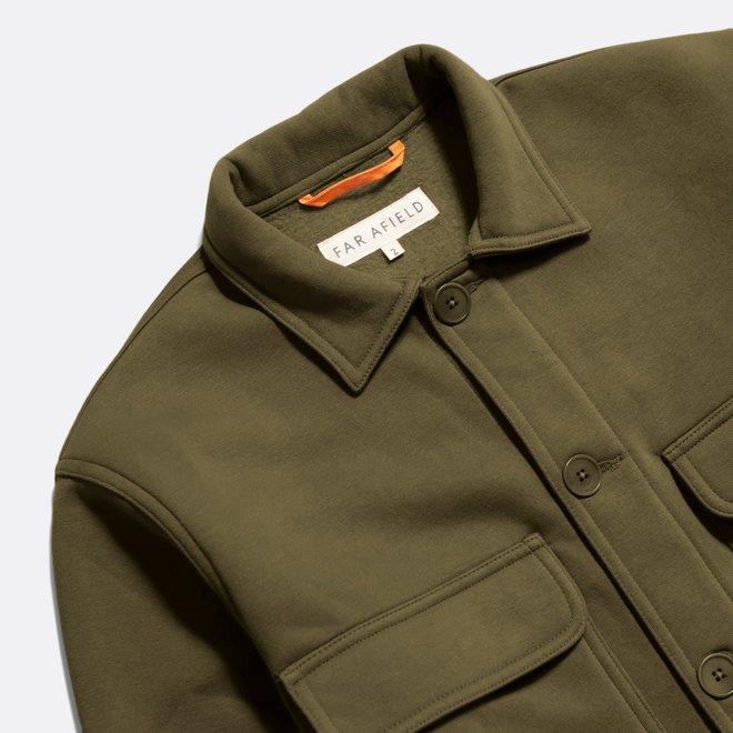 Normsk Jacket in Dark Olive