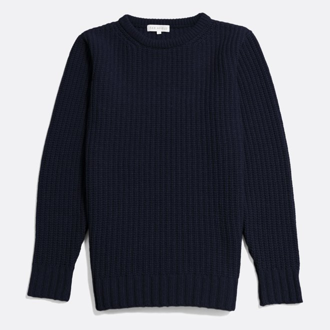 Hamish Ribbed Knit in Carbon