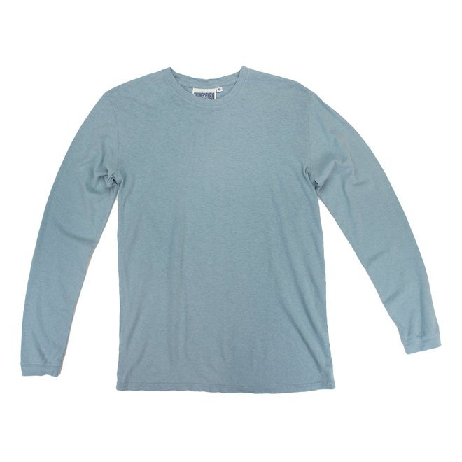 Jung Long Sleeve Tee in Ether Blue