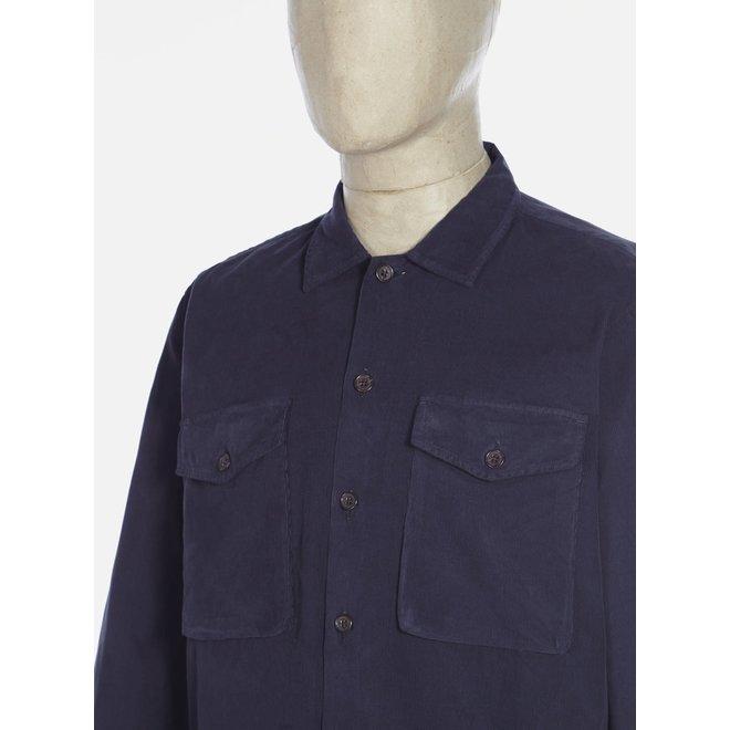 Treck Shirt In Deep Blue