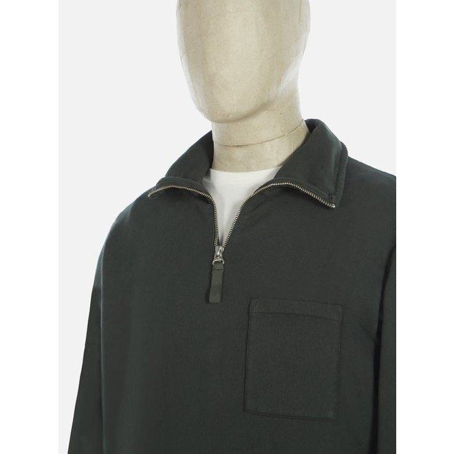 Half Zip Sweatshirt In Forest Green