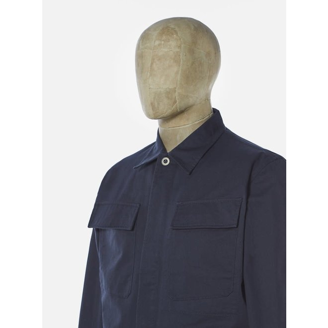MW Fatigue Jacket In Navy Twill