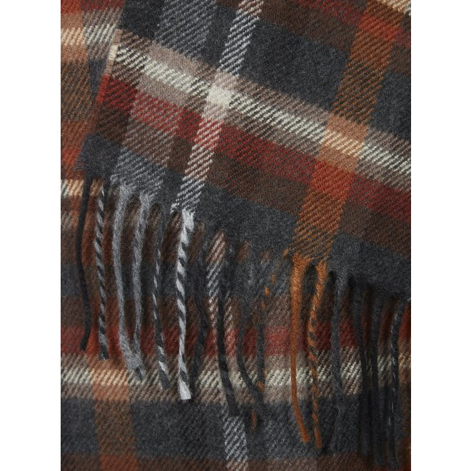 Scarf In Brown Check