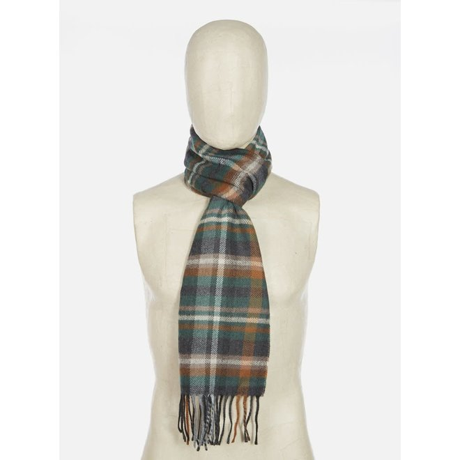 Scarf In Green Check