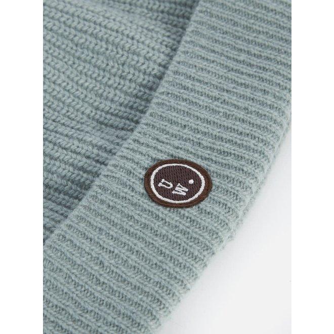 Watch Cap In Cool Green Eyre Yarn