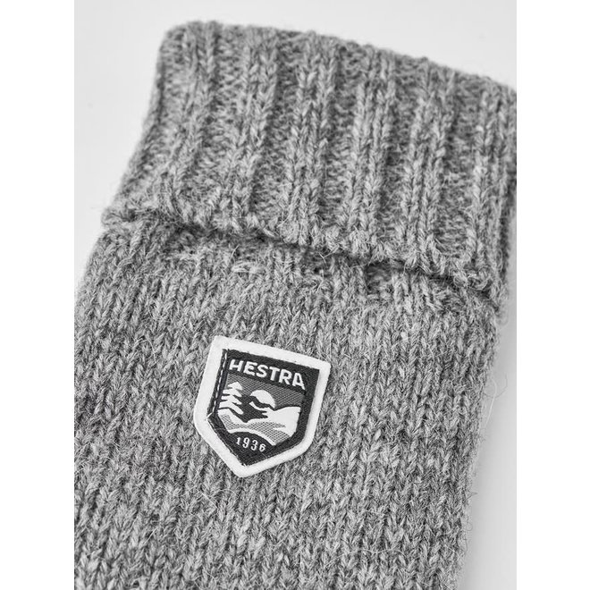 Basic Wool Glove in Grey
