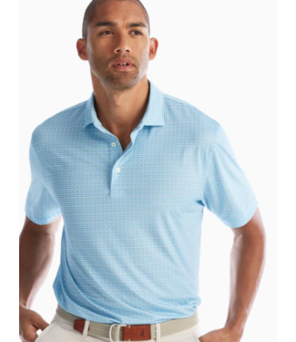 Johnnie-0 Warner seafoam polo