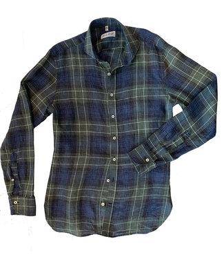 Haupt Linen Plaid Shirt