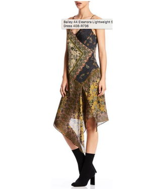 Bailey 44 Asymmetrical  slip dress
