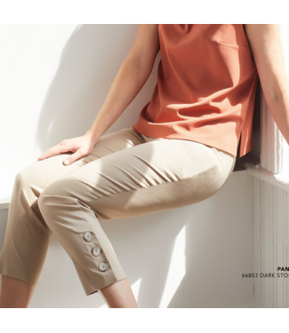 Up Stone Button Pant