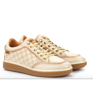 pikolinos Leather quilted sneaker
