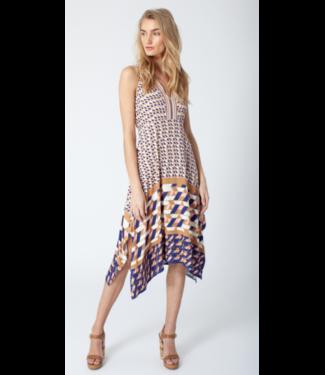 hale Bob Handkerchief print dress