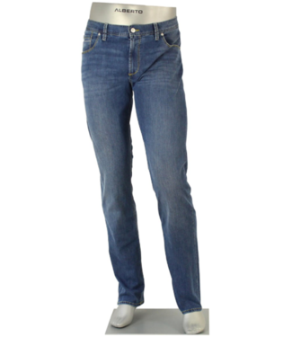 alberto Light stitch pipe denim (slim)