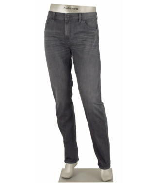 alberto Grey washed denim (modern fit)