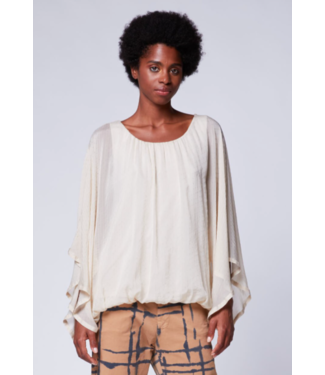 Baci Flowing sparkle bat top cream or white