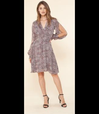hale Bob Cheetah print everyday dress